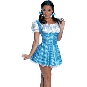 Sexy Dorothy Halloween costume-wizard of Oz -